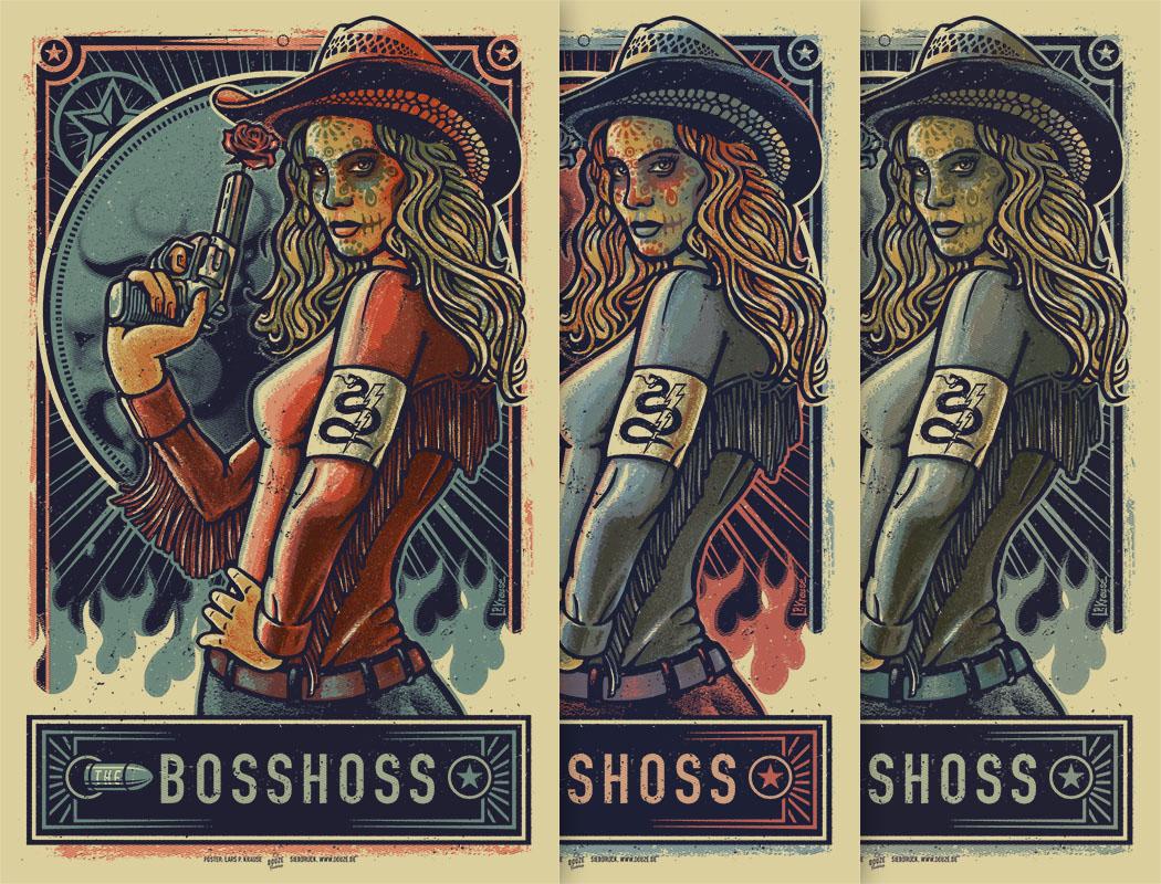 BOSS HOSS Poster