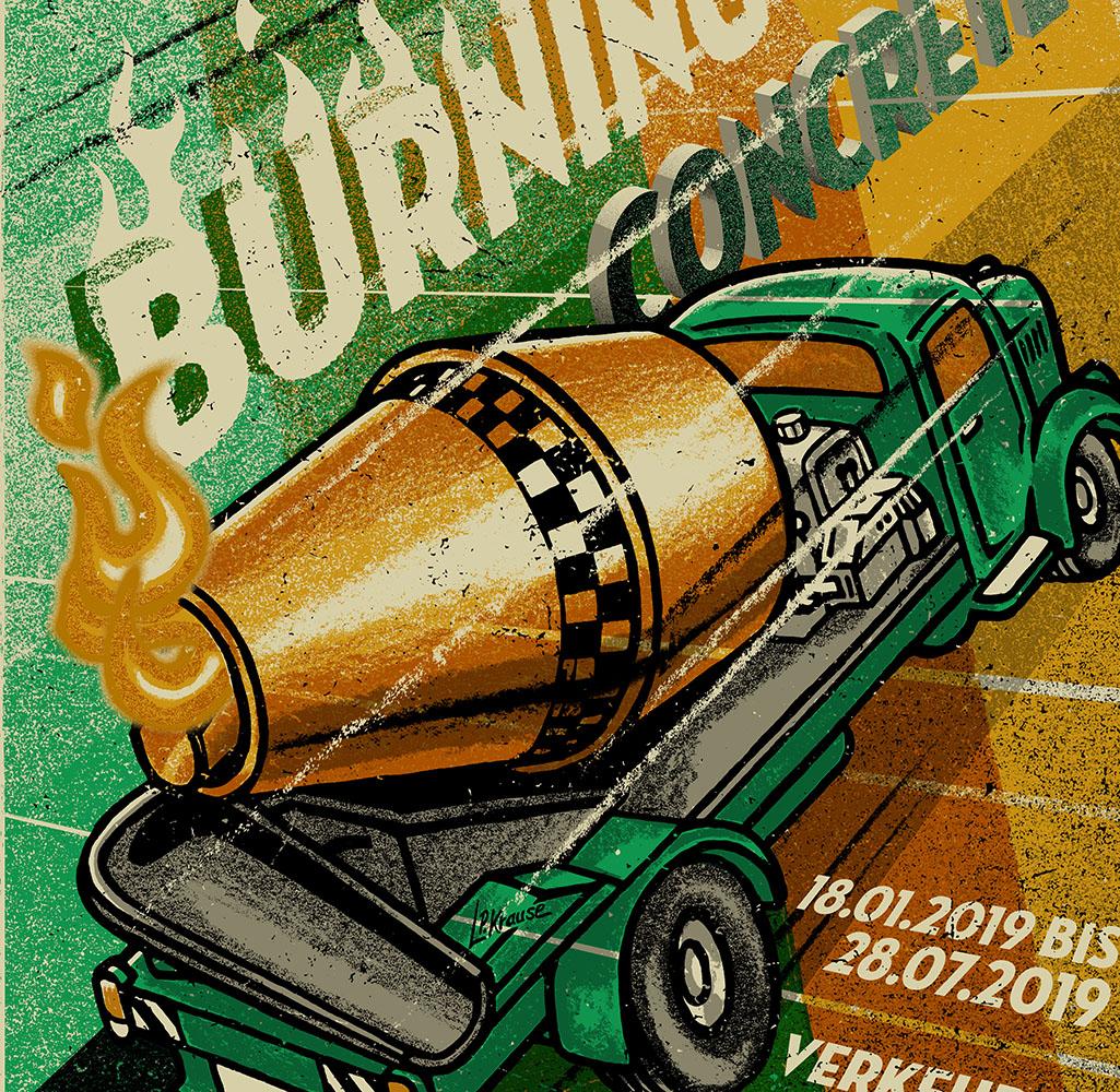 Burning Concrete…