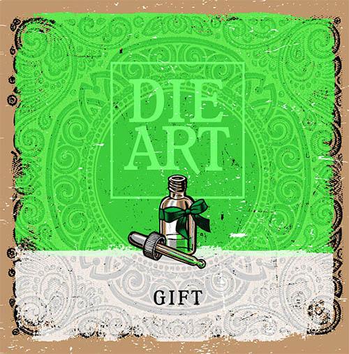 Die Art, GIFT, Vinyl Cover