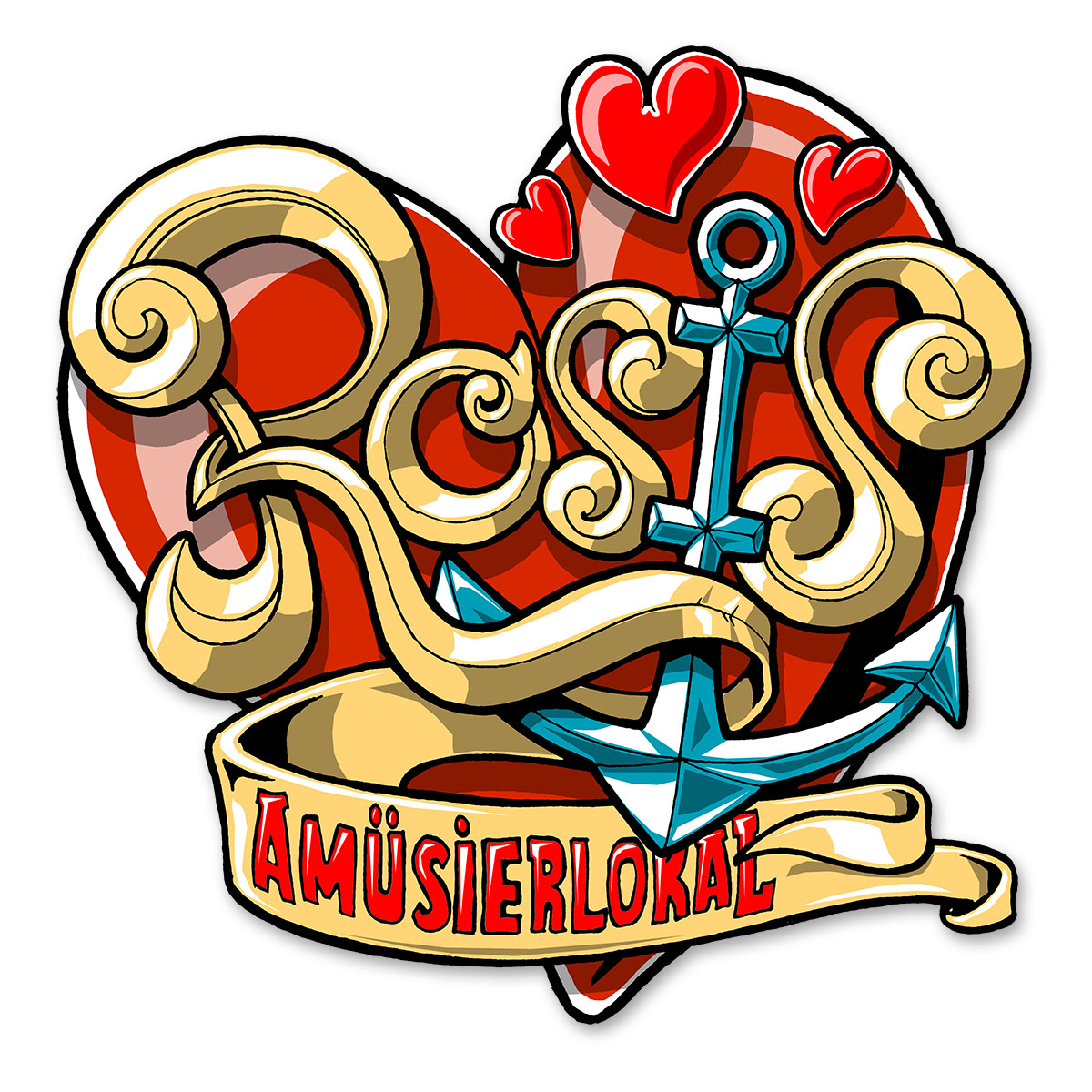 Rosis Logo Design