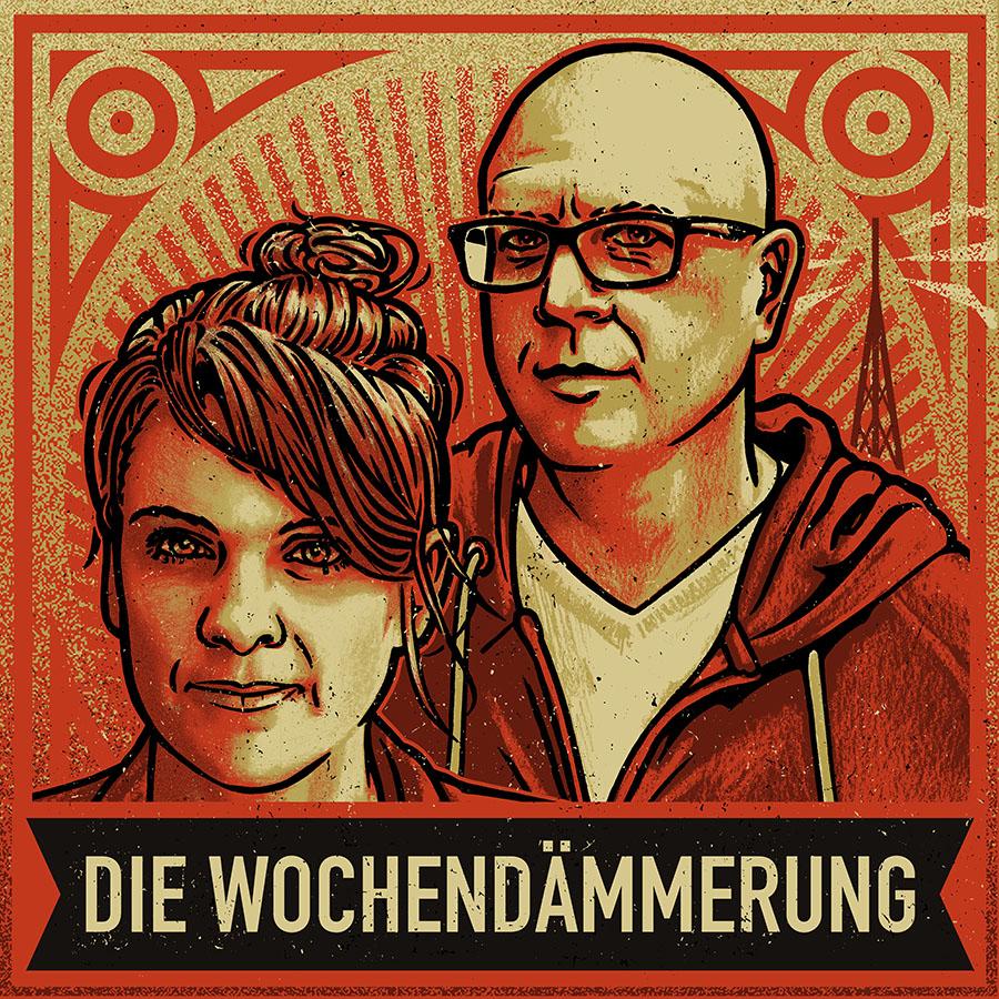 Wochendämmerung Logo